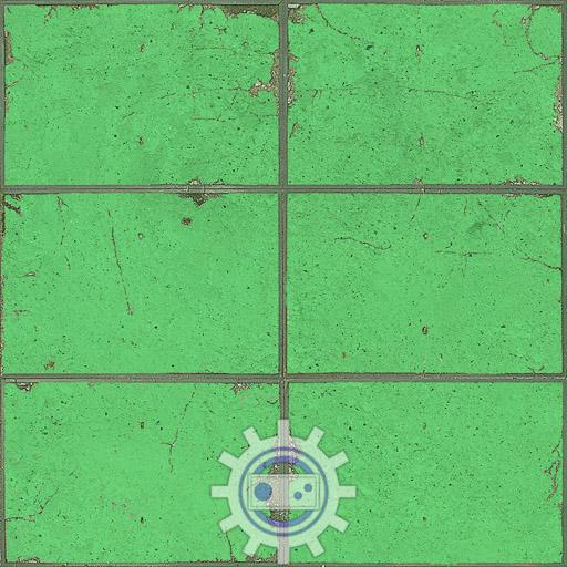 green_wall-rectangular_color